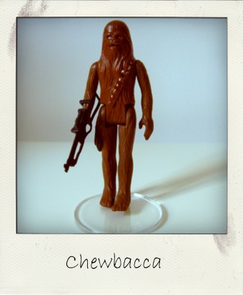 Vintage 1977 Kenner Chewbacca action figure