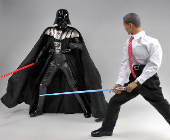 Obama versus Darth