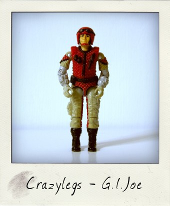 Crazylegs from the G.I. Joe - A Real American Hero line