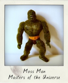 What's that smell? It's pine scented Moss Man!