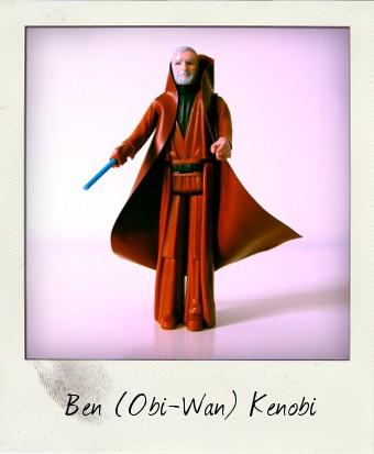 Grey-haired Ben (Obi-Wan) Kenobi