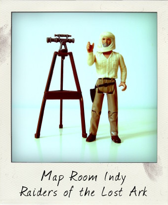 Raiders of the Lost Ark: Map Room Indy
