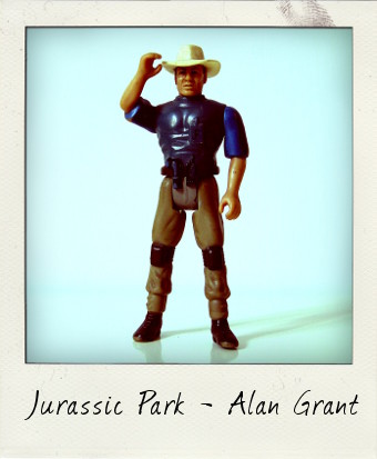 Alan Grant Jurassic Park action figure by Kenner