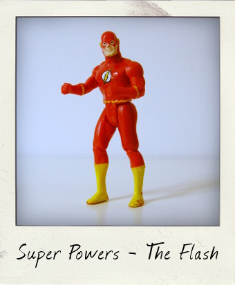 Kenner Super Powers - The Flash with Lightning Legs