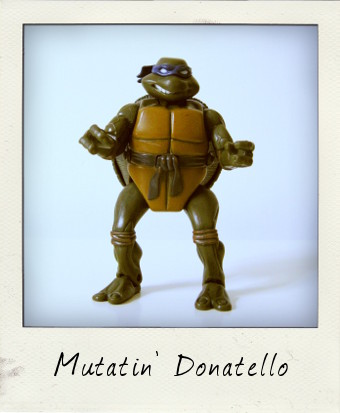 Mutatin' Donatello by Playmates