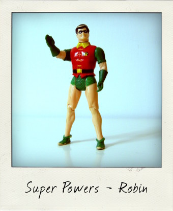 Kenner Super Powers Robin action figure
