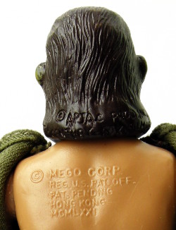 APJAC, 20th Century Fox and Mego Corp copyright details