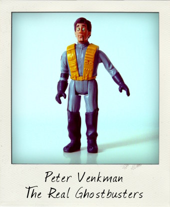 The Real Ghostbusters Fright Features: Peter Venkman
