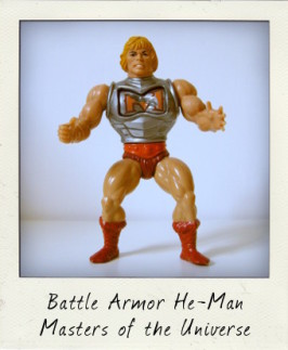 He has the power! Battle Armor He-Man