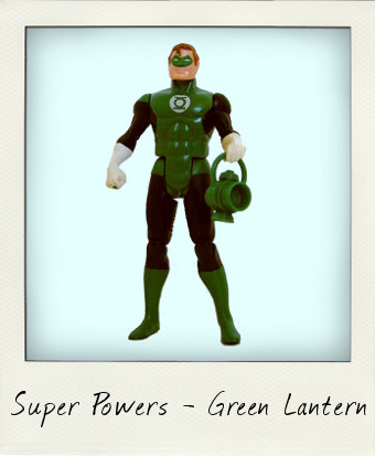 Kenner Super Powers Green Lantern from 1984