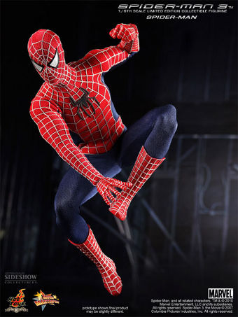 Limited Edition 1/6th scale Spider-Man from Spider-Man 3 from Hot Toys!