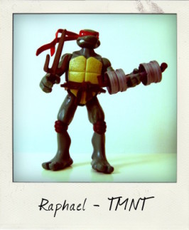 Raphael, as seen in TMNT: The Movie!