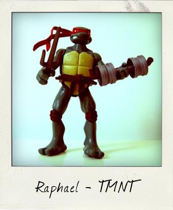 TMNT Movie Heroes Raphael by Playmates