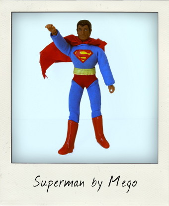 8 inch Mego Superman