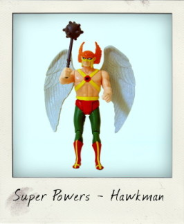 Kenner Super Powers: Hawkman!