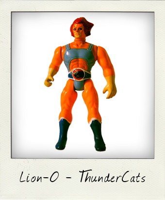 Thundercats Lionfigure on Lion O From Thundercats     Vintage Action Figures