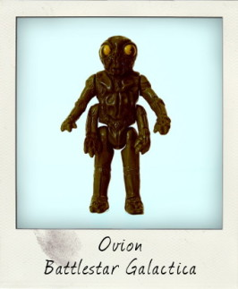 Ovion from Battlestar Galactica: Insect enemy from the TV space saga!