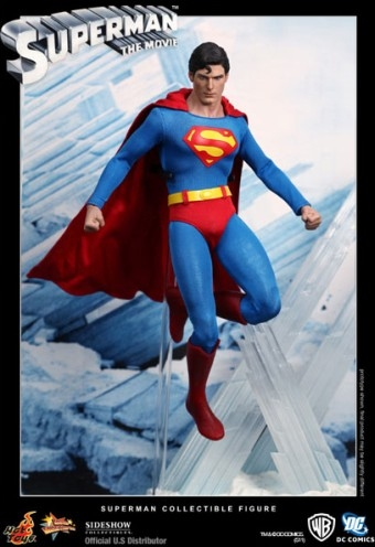 Christopher Reeve as Superman action figure by Hot Toys
