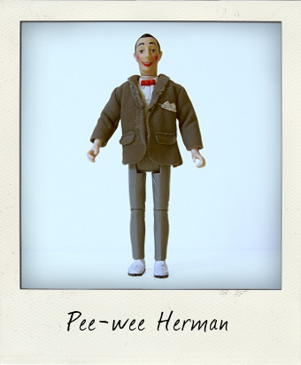 Vintage Matchbox Pee-wee Herman action figure