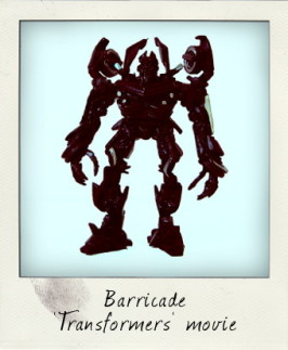 Give me the truth before I take it from you! Barricade from Transformers