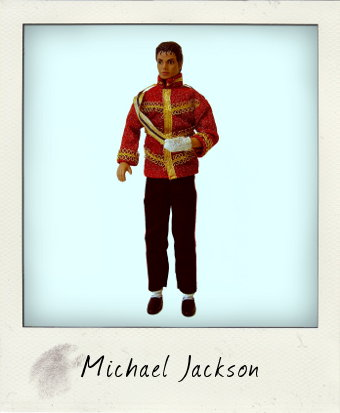 Michael Jackson - Superstar of the 80's - by LJN Toys
