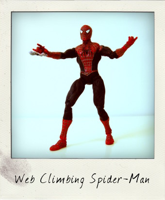 Web Climbing Spider-Man from Spider-Man 2 movie