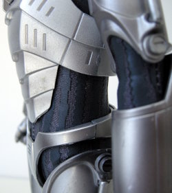 Cyberman - fabric under-suit detail