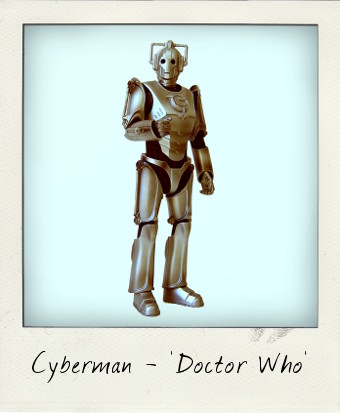 Cyberman with Gun-Arm from Doctor Who