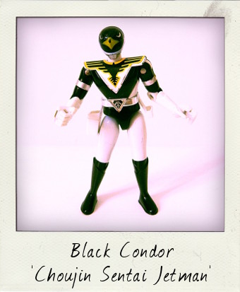 Diecast Black Condor Jetman by Bandai