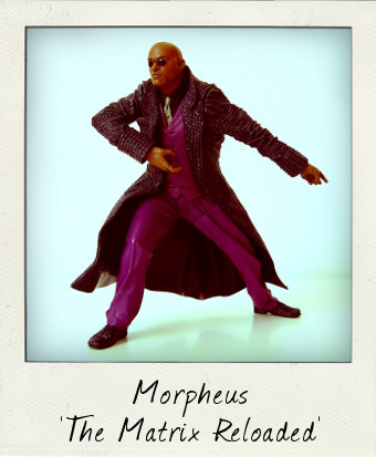 Laurence Fishburne as Morpheus in The Matrix Reloaded by McFarlane Toys