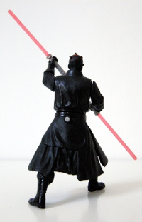 Darth Maul - button on back