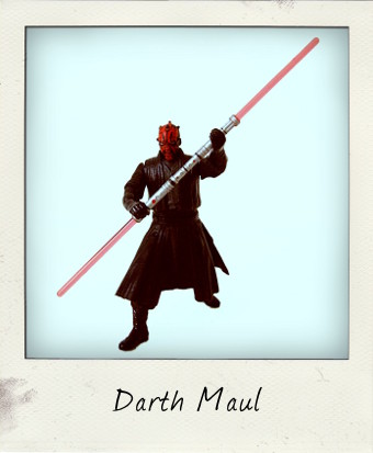 Deluxe Darth Maul by Hasbro