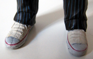 Tenth Doctor's Converse Sneakers