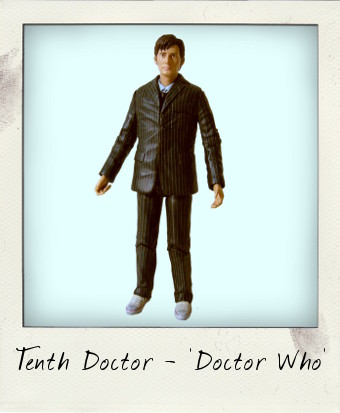 Doctor Who's Tenth Doctor bu Character Options