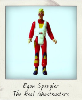 The Real Ghostbusters Screaming Heroes Egon Spengler