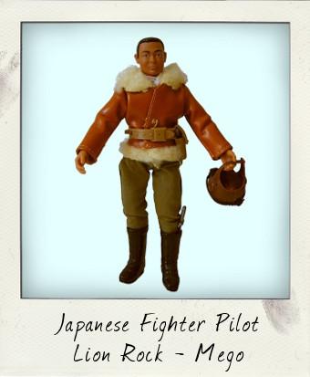 Polistil Lion Rock Japanese Pilot
