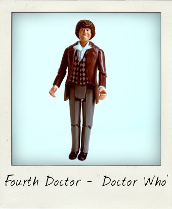 Tom Baker as Doctor Who's Fourth Doctor by Dapol