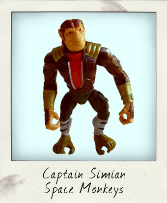 Captain Simian and the Space Monkeys by Mattel