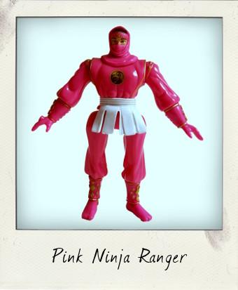 Mighty Morphin Power Rangers Pink Ninja