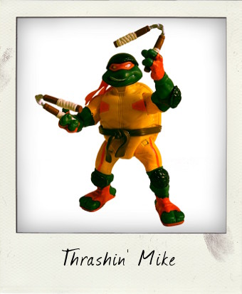 Extreme Sports Thrashin' Mike TMNT 2003