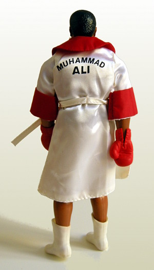 Muhammad Ali by Mego -back view