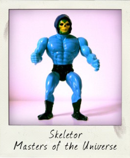 Vintage Skeletor action figure