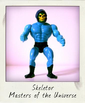 Vintage Skeletor action figure