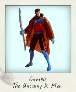 The Uncanny X-Men: Gambit with Power Kick Action!