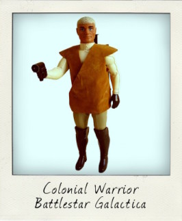 Colonial Warrior from Mattel's Battlestar Galactica