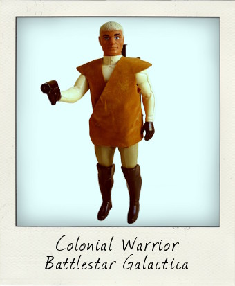 Colonel Warrior Battlestar Galactica 1978
