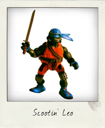 Extreme Sports Scootin' Leo 2003