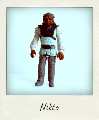 Vintage Nikto by Kenner