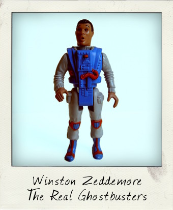 Screaming Heroes - Winston Zeddemore