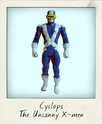 Uncanny X-Men Cyclops by Toy Biz 1991
